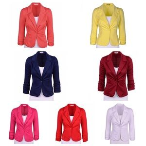 Jackets & Blazers - Knit blazers